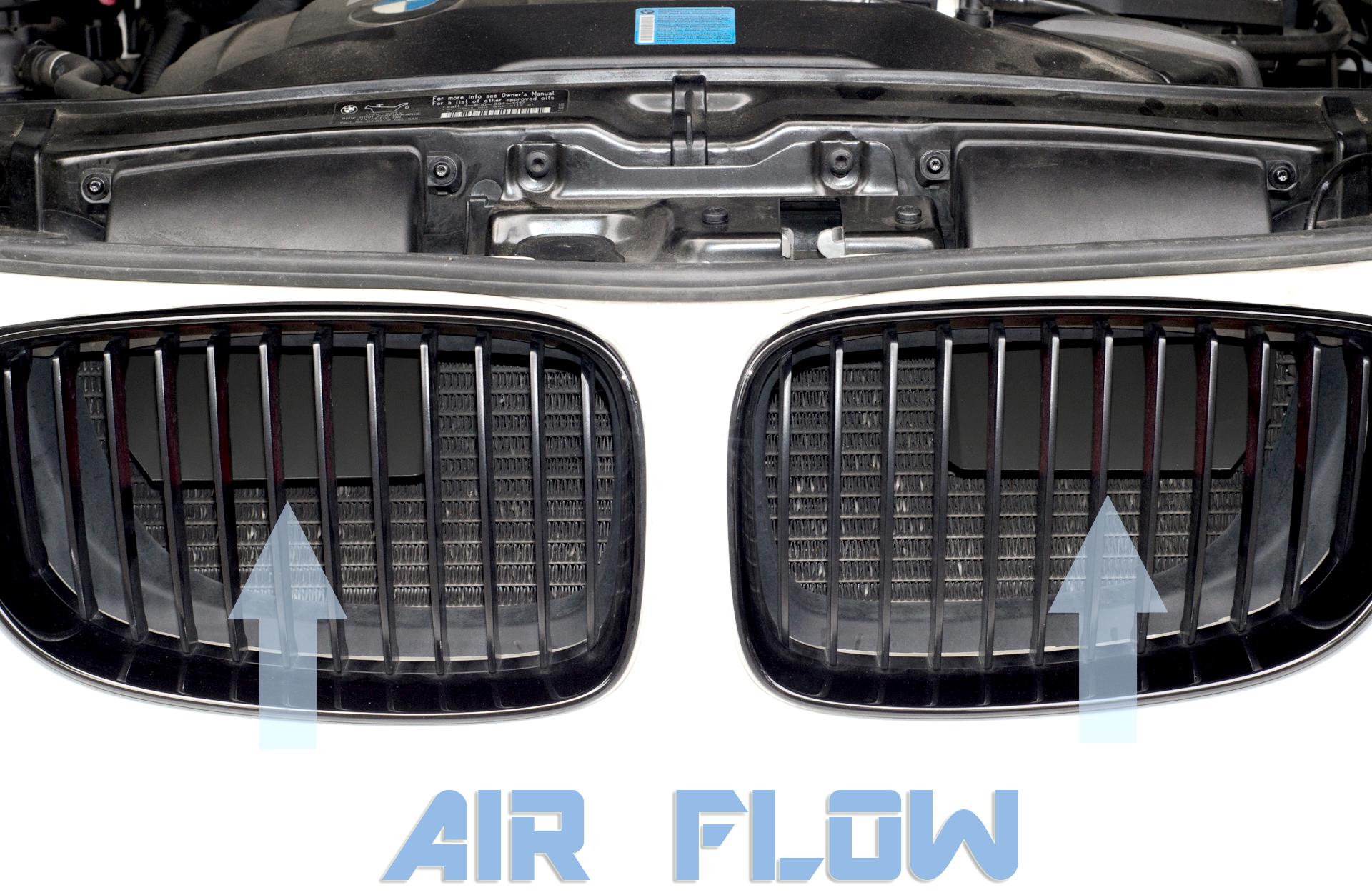 Air Scoops performance Embedded 4/cilindri Fits E82/E87/E88/116I 118I 120i